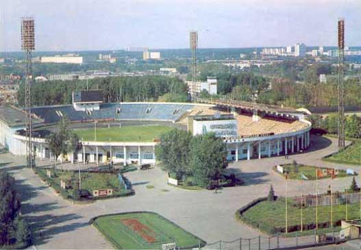 """Стадион """"Локомотив"""" открылся"""